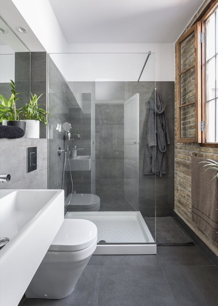 men bathroom tumblr%0A Marzua  Rehabilitaci  n De Loft En El Caba  al por Ambau Taller d u    Arquitectes