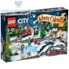 LEGO CITY TOWN CALENDARIO DELL'AVVENTO