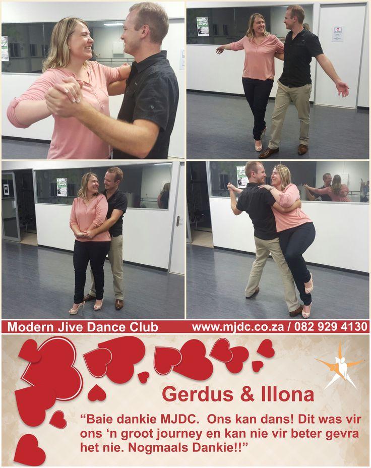 Congratulations Gerdus & Illona www.mjdc.co.za