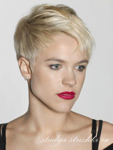 Женские короткие стрижки на тонкие волосы