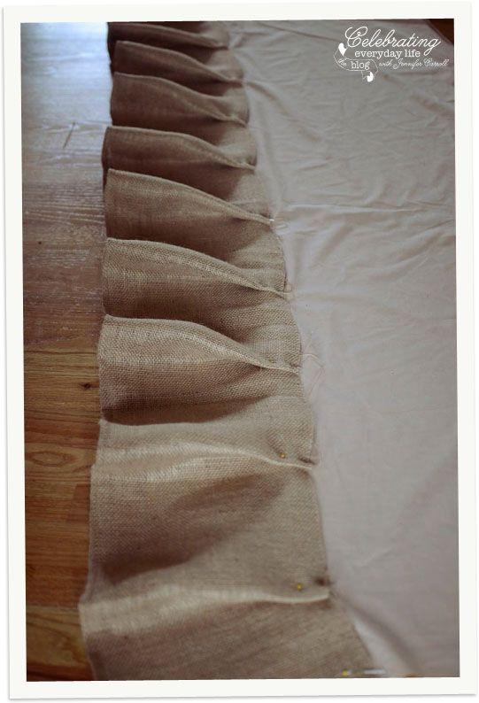 Tutorial, Cómo coser un rizado arpillera