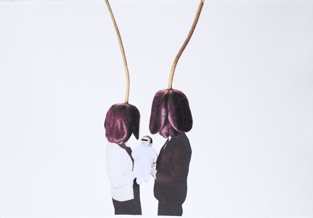 """""""The Tulip Did It"""" series by Cristina Martins is a story about the collision of two societies, a story of humility and alienation. Exclusive editions on eurartproject.com"""