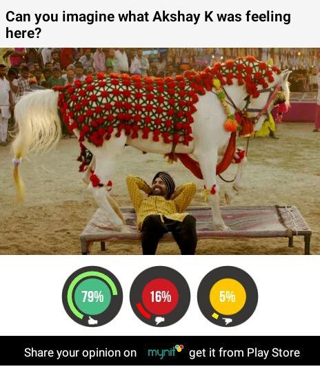 Tung Tung boy Akshay K & the animal instinct. mynit knows how u felt @akshaykumar. mynit @ ow.ly/PjD59