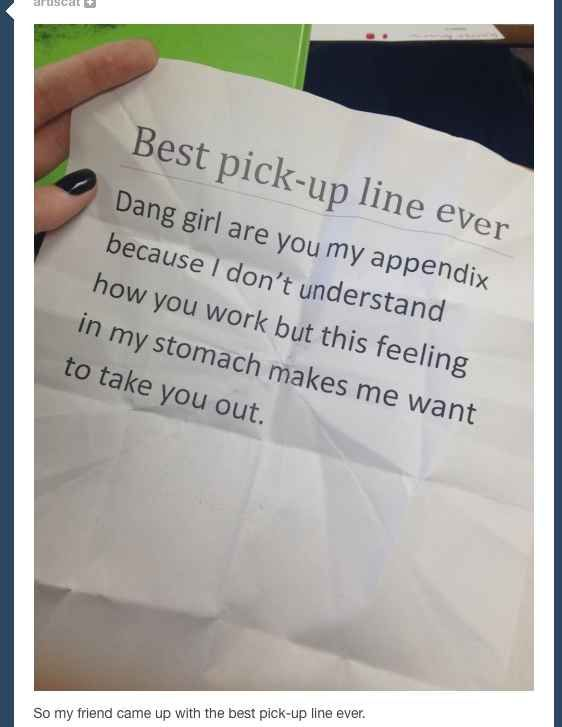 The Best 100 Cheesy Pick Up Lines [From Her]