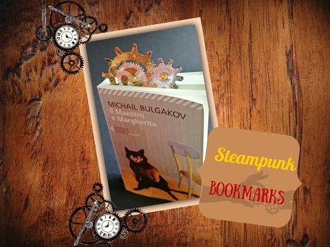 Steampunk bookmarks - Segnalibro Steampunk