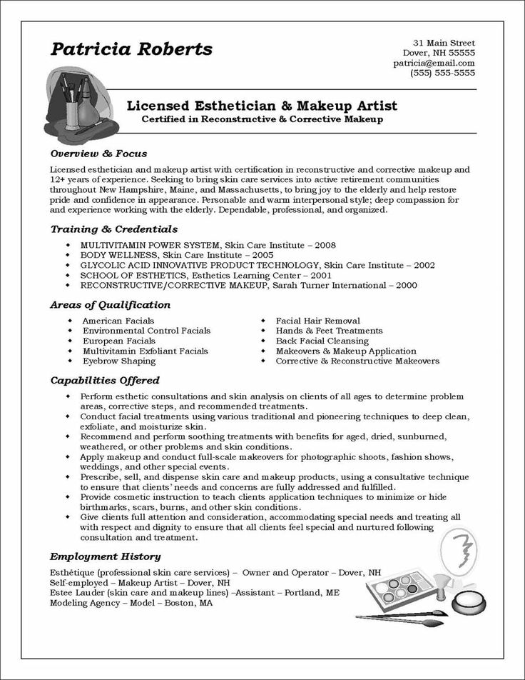 Functional Resume Example Distinctive Career Services