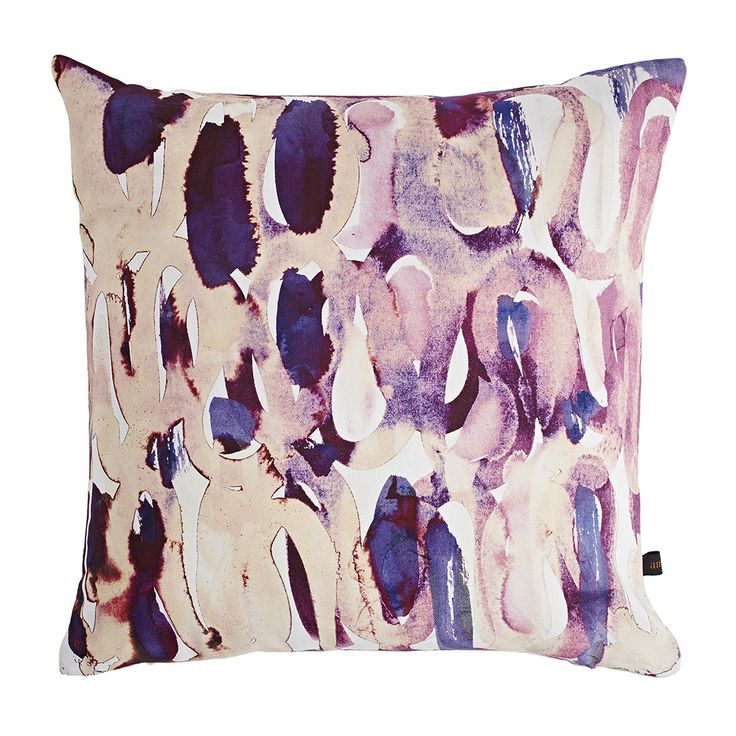 Discover the Amy Sia Nocture Plum Cushion at Amara