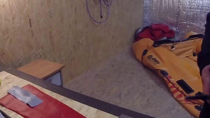 Réparation pro d'une déchirure ou crevaison sur  bateau pneumatique Zodiac