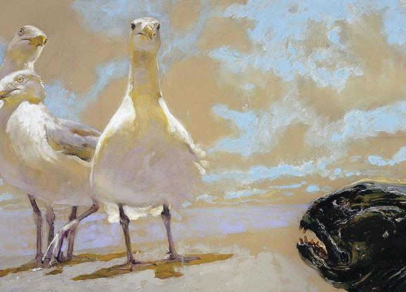 The Wolffish (2005)-Jamie Wyeth