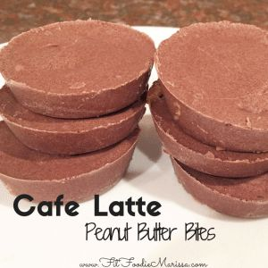 These Cafe Latte Peanut Butter Bites will definitely satisfy your sweet tooth! Full of super foods and feels like you are eating a cheat meal! http://fitfoodiemarissa.com/cafe-latte-peanut-butter-bites/