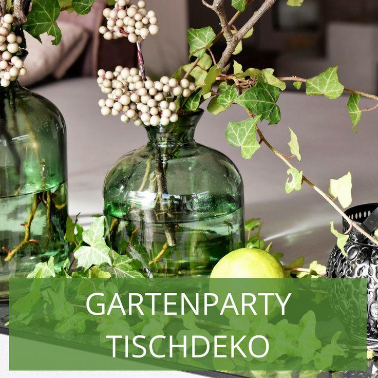 41 besten Gartenparty Tischdeko Bilder auf Pinterest