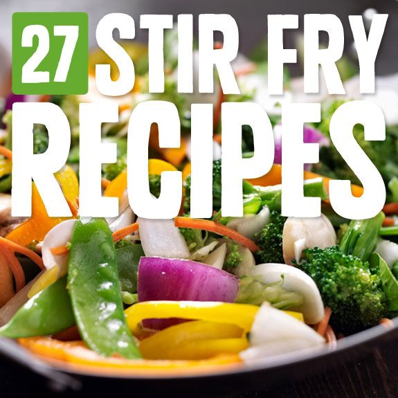 You could eat one of these stir-fry recipes each day for a month and never get sick of them. They're spicy, healthy and completely satisfying.