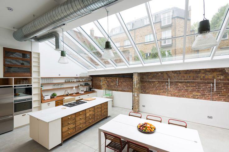 Paper Mill Studios / Gresford Architects – nowoczesna STODOŁA | wnętrza & DESIGN | projekty DOMÓW | dom STODOŁA