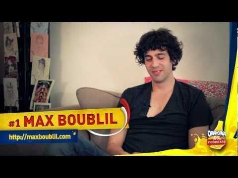 Interview de Max Boublil pour Orangina & the VidéoStars - YouTube