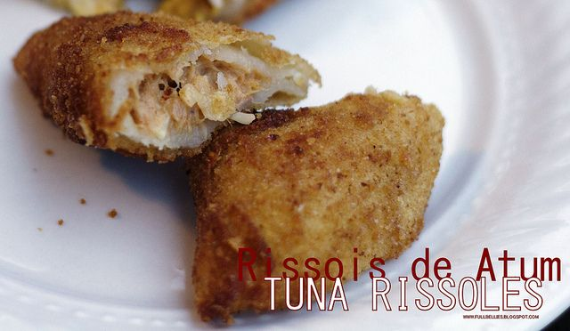 Rissois de Atum - Tuna Rissoles