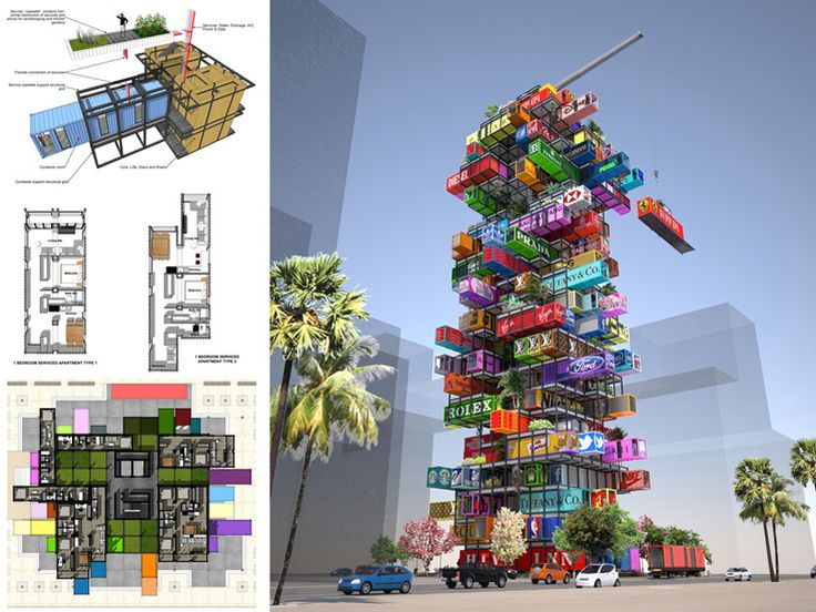 OVA studio enables traveling container hotel rooms with hive-inn (hong kong)