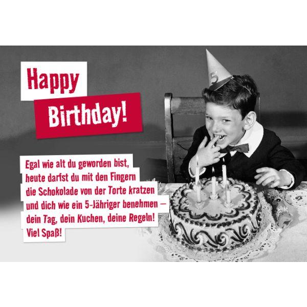 Es ist egal, wie alt …   – Geburtstag