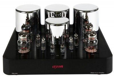 The Helios offers a single-ended / Class-A operation with a phenomenal 3D spacious soundstage. Precise low frequency, outstanding dynamic and a life-like midrange are also typical for this superb amplifier. The new driver stage design equipped with 6BQ5,