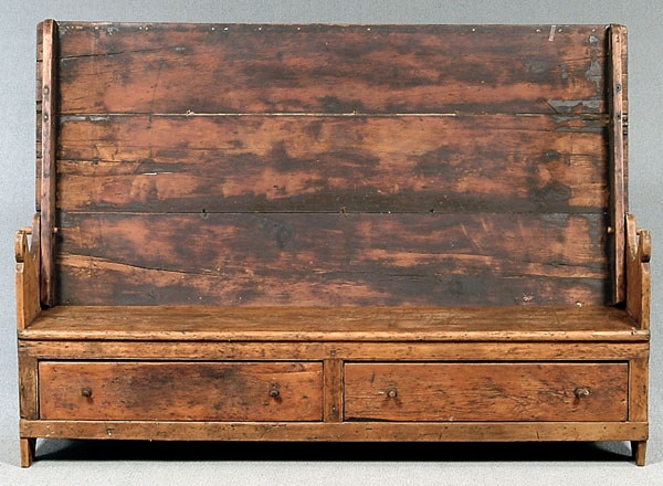 Pine hutch table,. Primitive AntiquesPrimitive FurnitureCountry ... - 51 Best Benches Images On Pinterest Primitive Furniture, Primitive