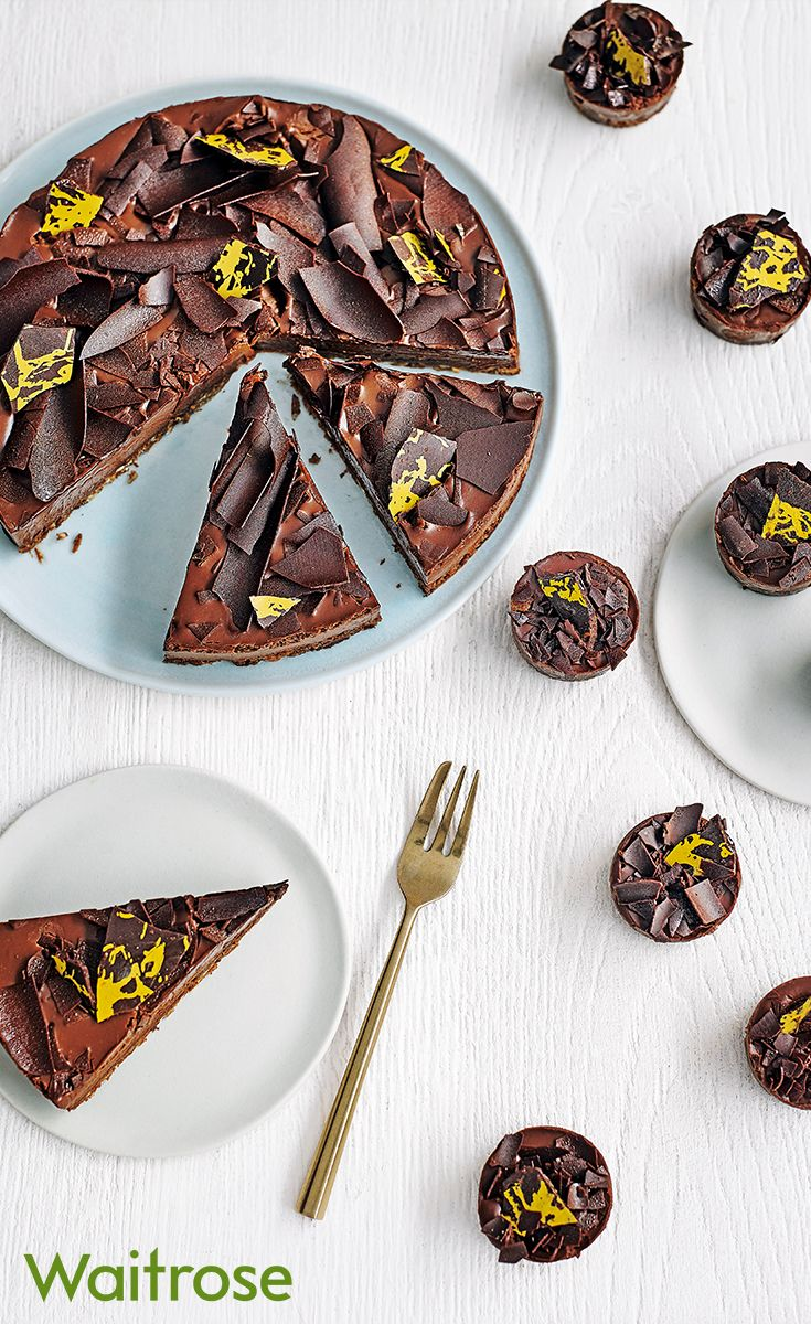 Impress your guests with Heston Blumenthal's showstopping Popping Candy Tart and Mini Cracking Chocolate bites. Find these, and even more food made to order on the Waitrose Entertaining website.