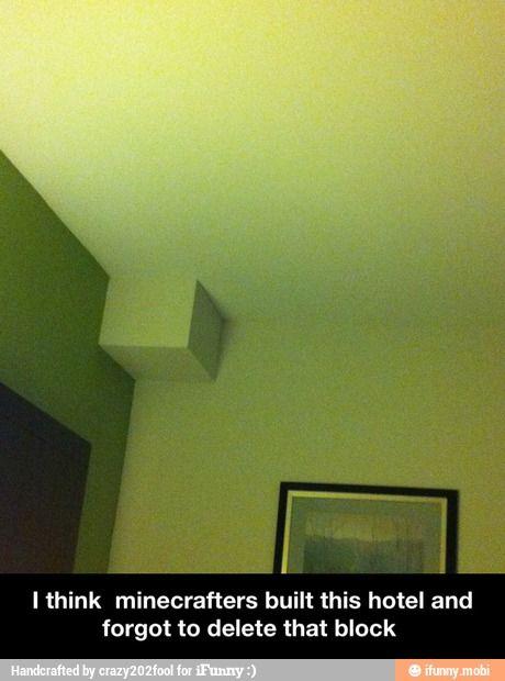 Minecraft hotel / iFunny :)