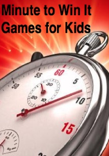 110 Minute to Win It Games for Kids