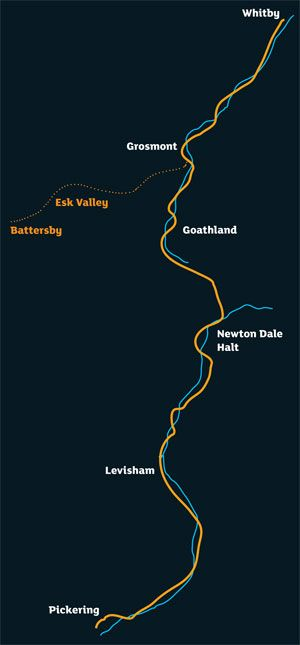 Line Guide – Pickering to Whitby   North Yorkshire Moors Railway :: A steam train adventure through the stunning Yorkshire Moors