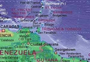 Trinidad and Tobago! (For the ppl that act like they don't know where we're located!)