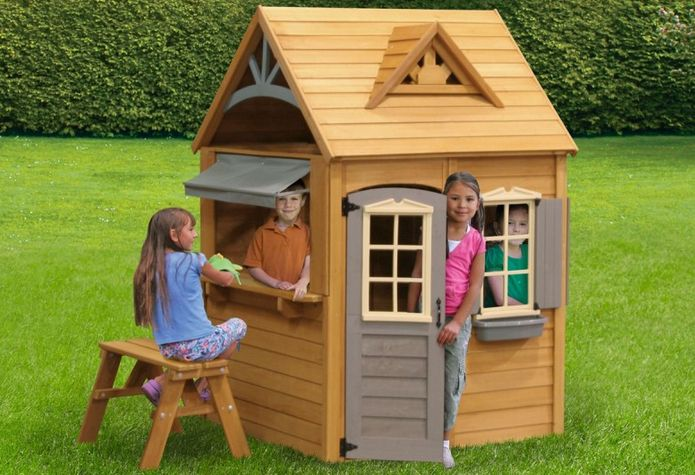 Wooden Playhouse Kits Cheap | Wooden Global