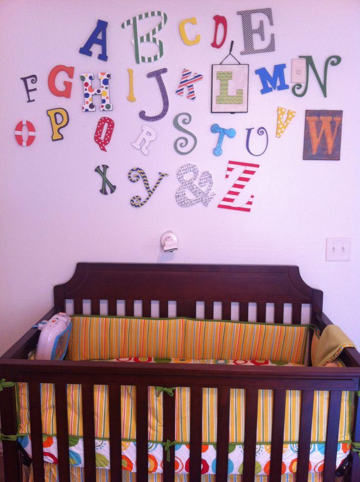 Evan's Dr. Seuss nursery