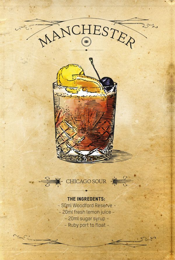 Woodford Reserve Chicago Sour recipe