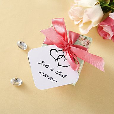 Personalized Favor Tags - Double Heart (set of 36) 211677 2016 – $2.99