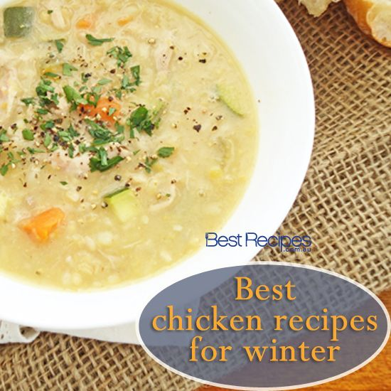 From chicken soup to pie recipes, we have the best chicken recipes for winter #chicken #winter #cooking #recipes #easy
