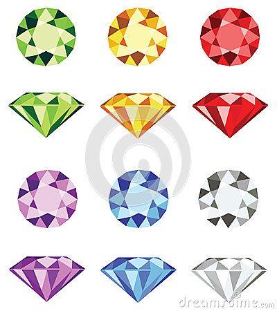 cartoon gem stones - Google Search