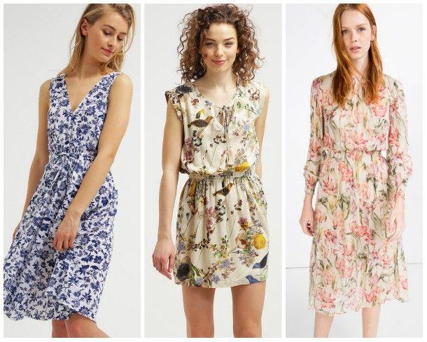 TOP TREND: wiosenne sukienki w kwiaty