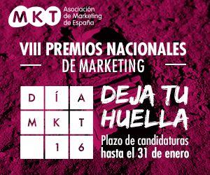 ¡Anímate! Profesional del marketing presenta tu éxito a los premios #DíaMKT16 http://bit.ly/1kHSjwq
