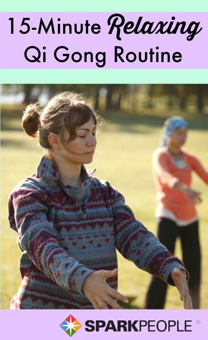 Get #energized and find your #calm with this 15-minute Qi Gong routine. | via @SparkPeople