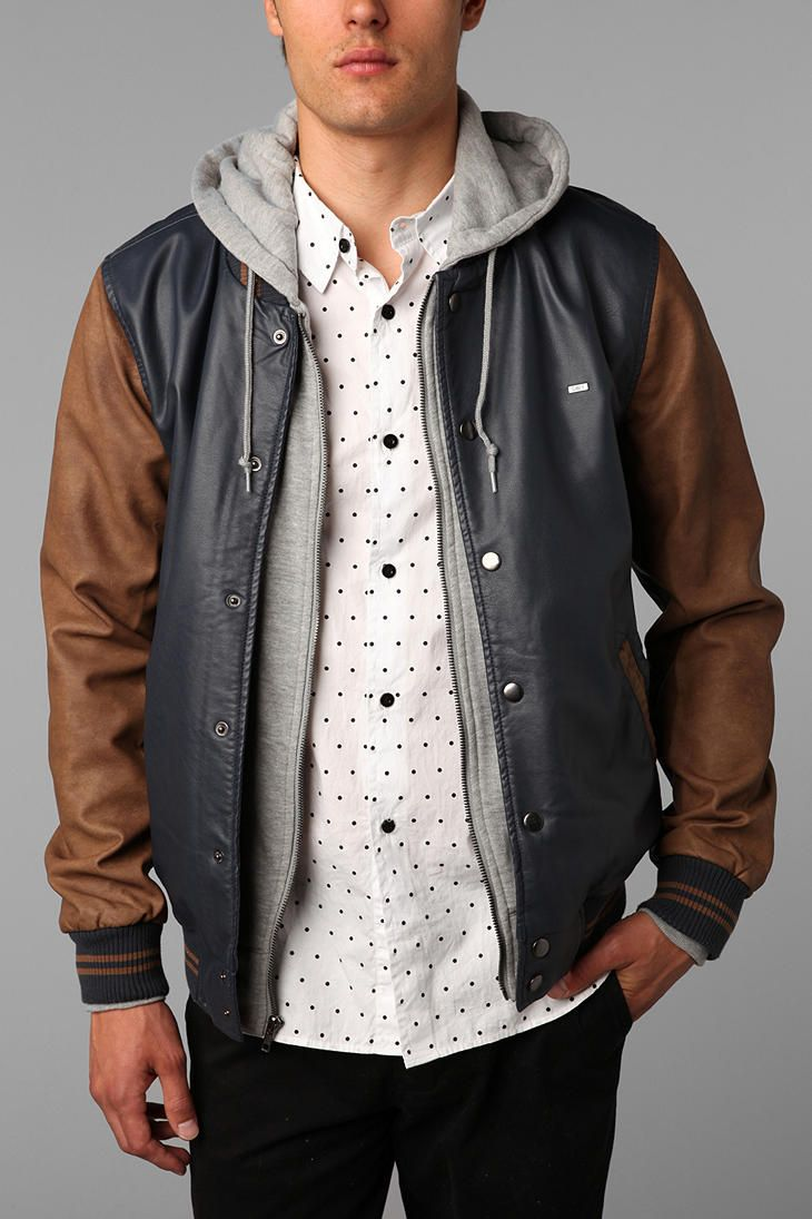 OBEY Varsity II Jacket  #UrbanOutfitters
