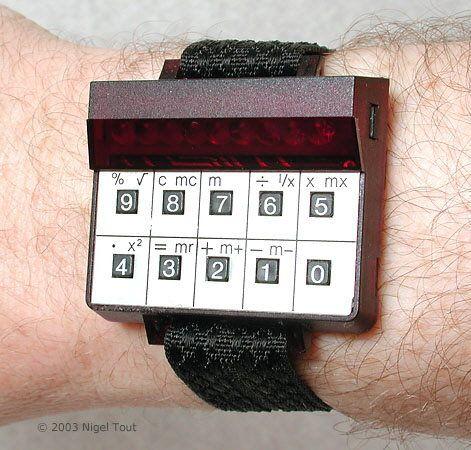 Sinclair Wrist Calculator (1977).