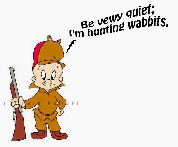 Elmer Fudd Is A Short, Bald
