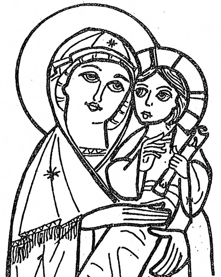 17 best images about iconen on pinterest gabriel for Mary and gabriel coloring page
