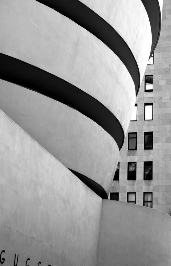 FRANK LLOYD WRIGHT, Guggenheim Museum, New York, completed 1959.