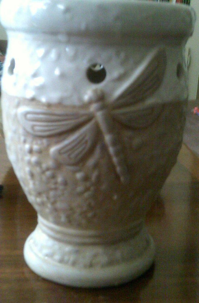 yankee candle tea light wax warmer/burner, dragonfly ...