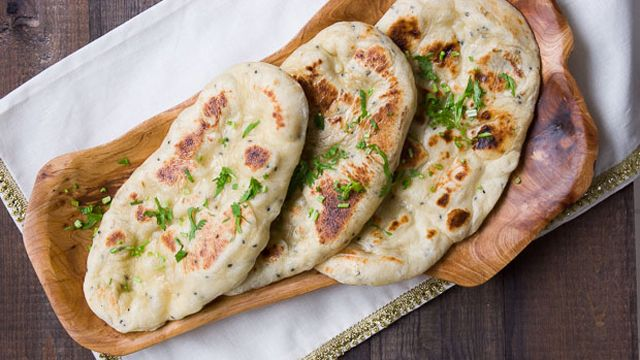 Make this kalonji seed naan recipe using yogurt, yeast and bread flour. Find this easy-to-make bread recipe on PBS Food.
