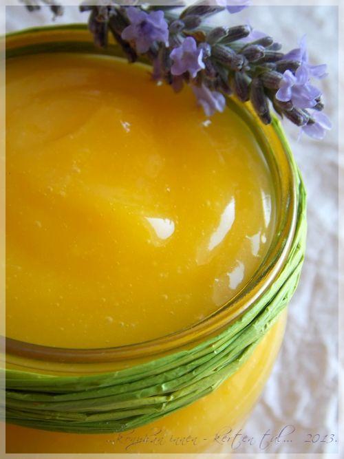 Lemon curd - Citromkrém - ...konyhán innen - kerten túl...