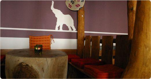 Baobab Restaurant, Darmstadt.  Wenckstr 1.