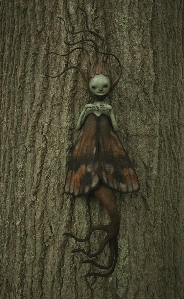 "Fantasy | Whimsical | Strange | Mythical | Creative | Creatures | Dolls | Sculptures | ☥ | ""No Thing"" by scott radke"
