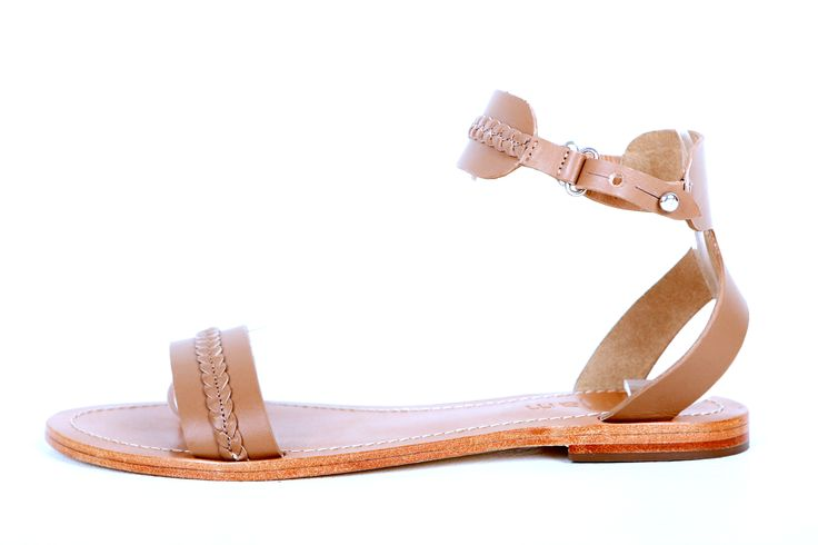 Zoe tan leather ankle strap sandal RRP $119.00 sizes 35 - 42 www.jamjam.com.au #sandals #shoes #footwear #ladiesshoes #leathershoes #leathersandals