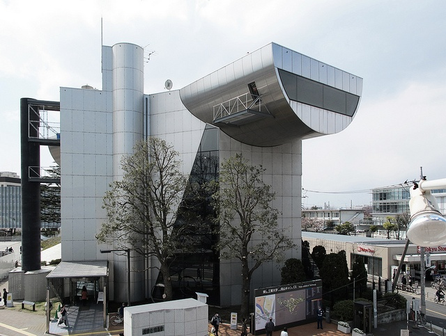 TIT Centennial Hall - Tokyo, Japan;  designed by Kazuo Shinohara;  photo by carlo.fumarola, via Flickr