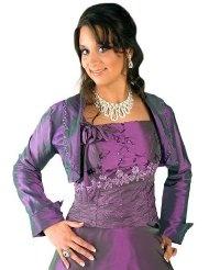 Envie - 1500 Bolero passend zum Abendkleid in Lila Gr.38-62